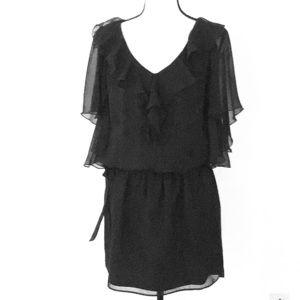 WHBM Flowy Blouson Dress